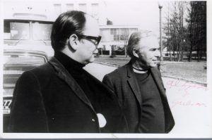 Santiago Álvarez y Alfredo Guevara